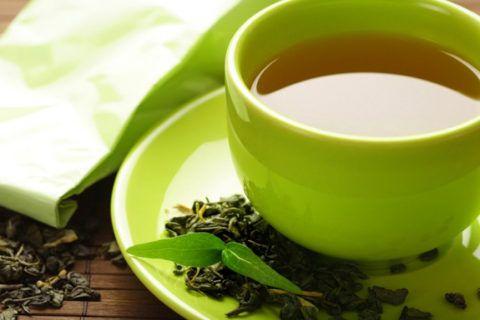 Крепкий зеленый чай