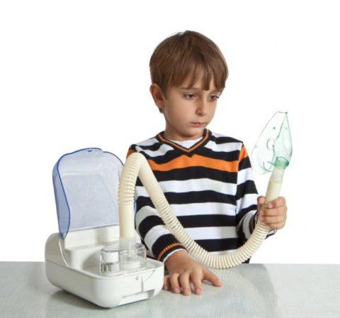 Детям назначают ингаляции преимущественно с шести лет