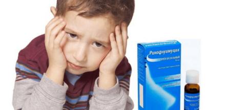 Ринофлуимуцил назначается детям начиная с трехлетнего возраста